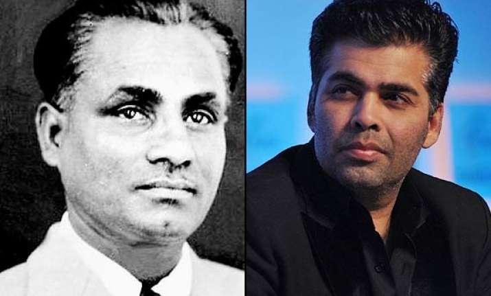 karan johar to make film on hockey legend dhyan chand is
