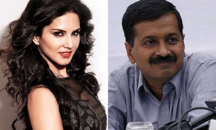 sunny leone pays heed to kejriwal s letter won t endorse