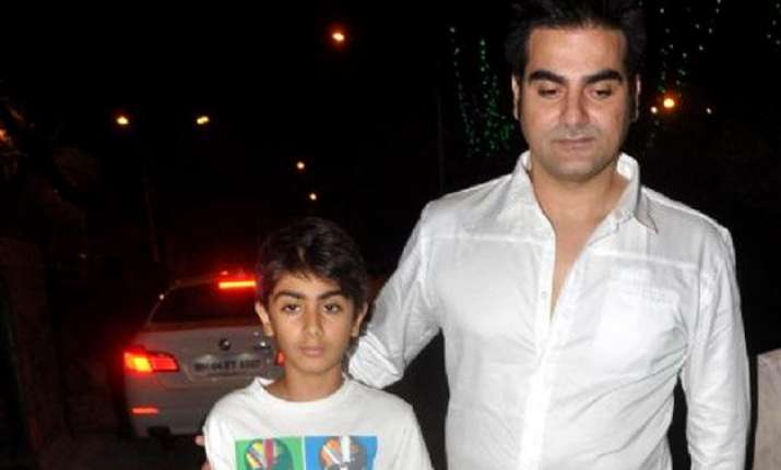 arbaaz khan my son fascinated by films