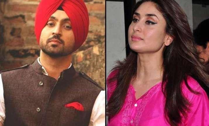 diljit dosanjh reveals his role in kareena shahid starrer