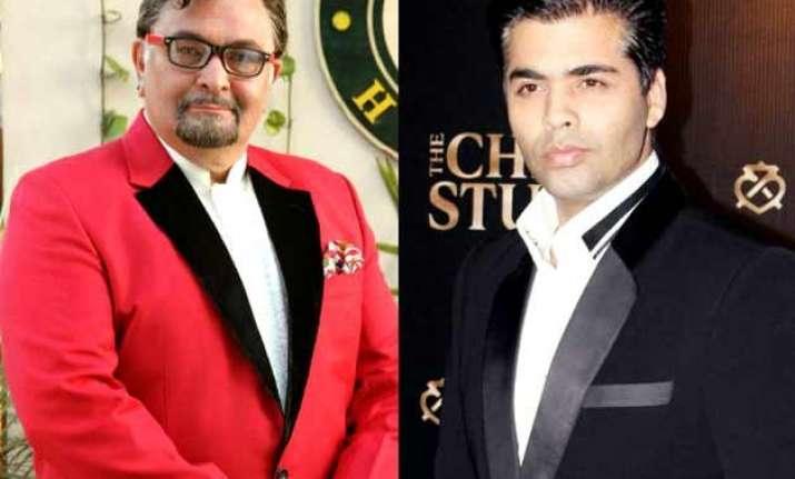 karan johar rishi kapoor launch online casting portal