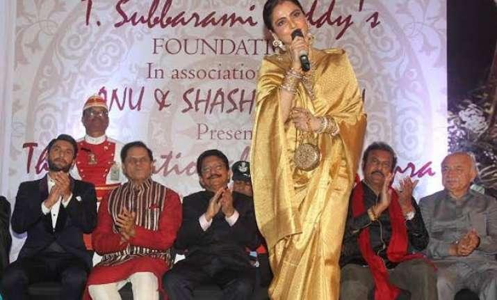 yash chopra taught rekha how to love