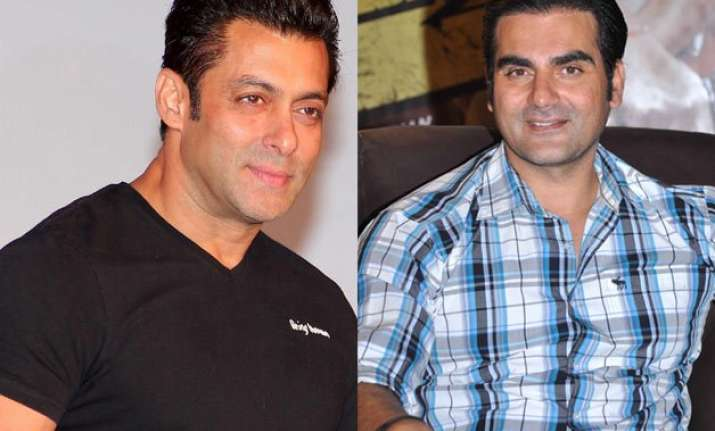 salman started gym culture in india says arbaaz khan