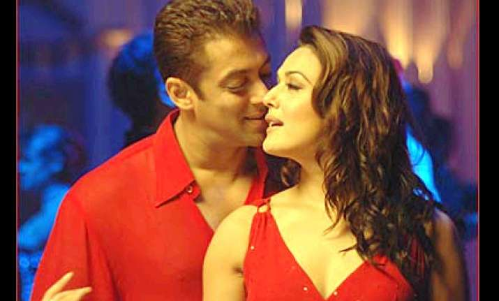 salman khan loves blunt but happy preity zinta