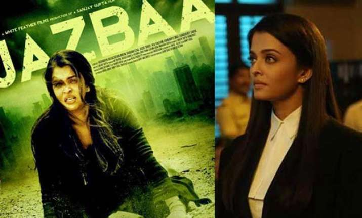 aishwarya rai bachchan s first look in jazbaa out see pics
