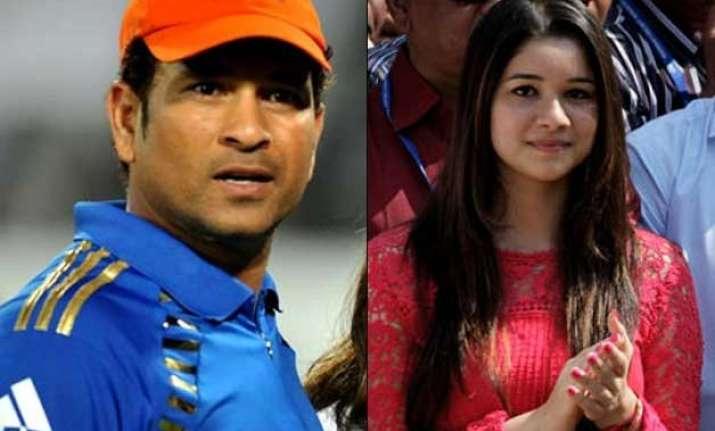 sara tendulkar is not joining films sachin tendulkar says