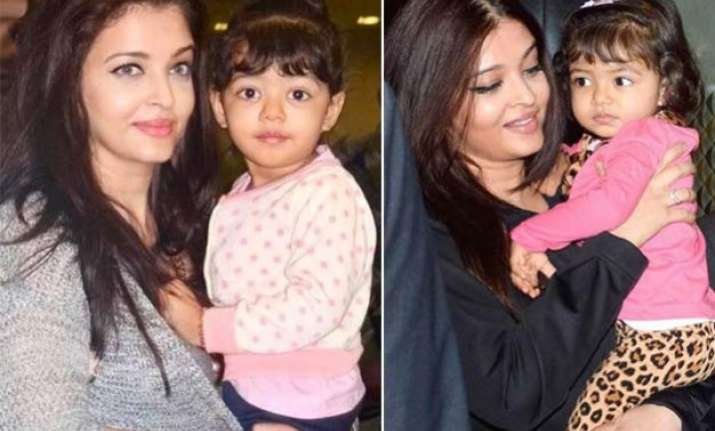 watch video the adorable moment when aaradhya bachchan