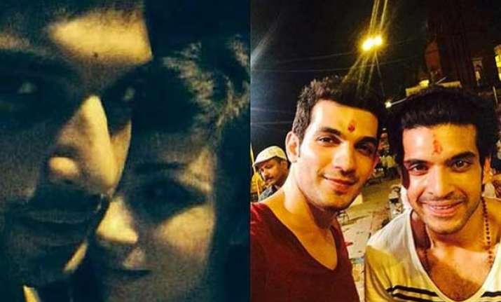 omg has karan kundra got engaged to aanchal singh see pics