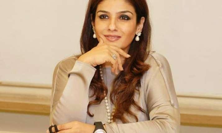 raveena tandon silence on next project with anurag kashyap