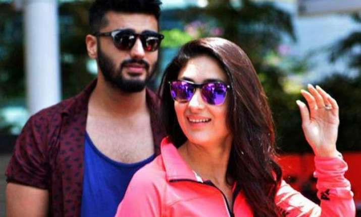 fresh pair kareena arjun gives intimacy dose in first look