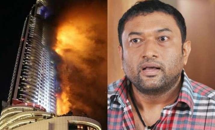 dubai fire malayalam actor recalls horrific experience