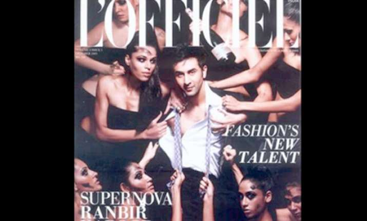 ranbir s sensational cover look on l officiel