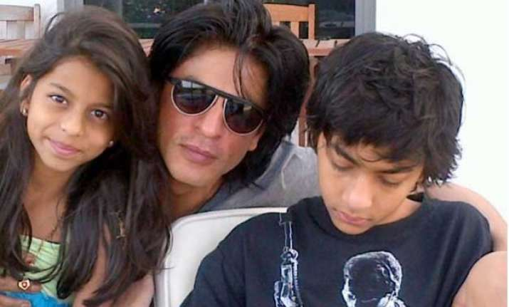 shocking is shah rukh khan jealous of his own kids aryan