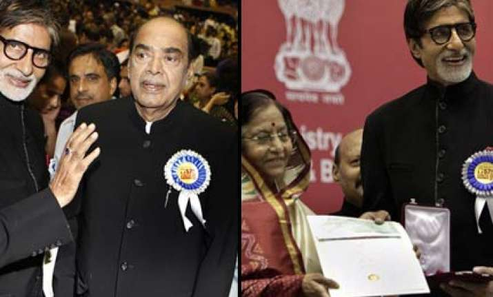 bachchan ramanaidu receive national film awards