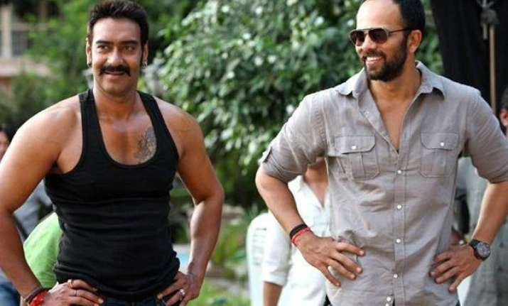 working on a script with rohit shetty ajay devgn