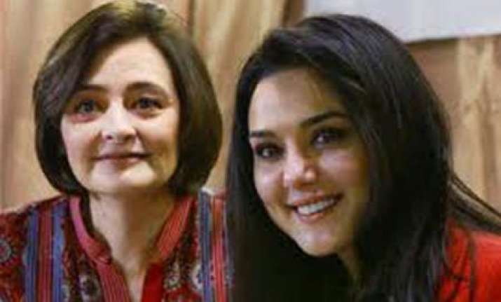 preity brings cherie blaire to india for philanthropy