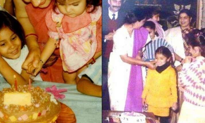 Anushka Sharma S Birthday Special Her Rare Childhood Pics