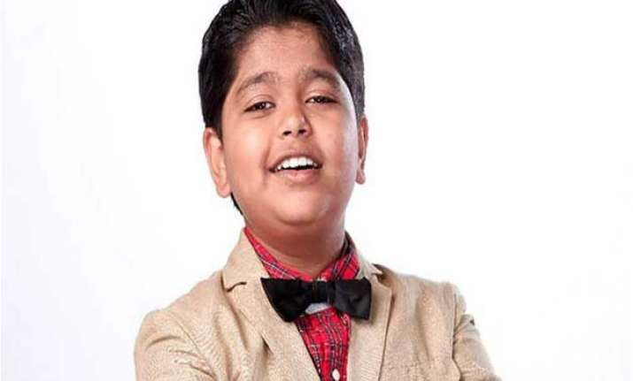 i want to sing for shah rukh sa re ga ma li l champs winner