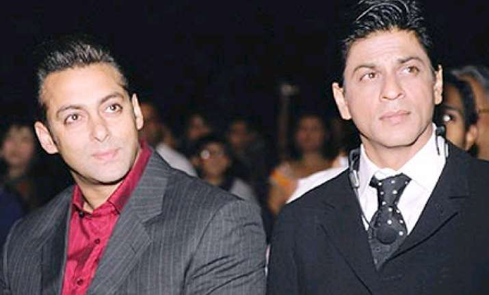 srk could be nice only if he was less insecure says salman