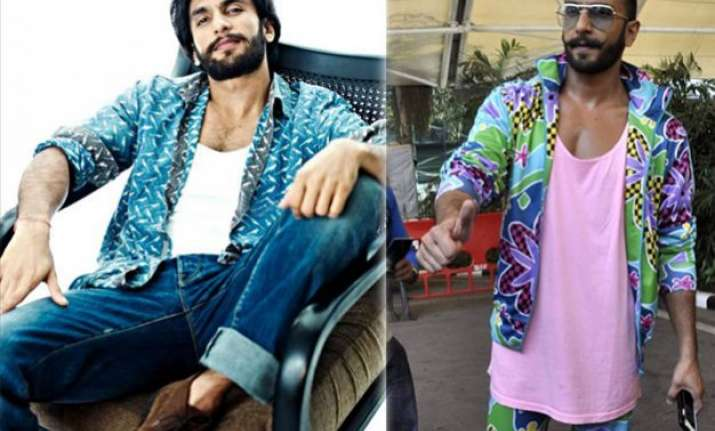 ranveer singh reveals the secret of his magnetic style