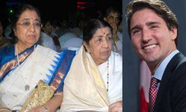 love from canada lata mangeshkar s sister receives birthday