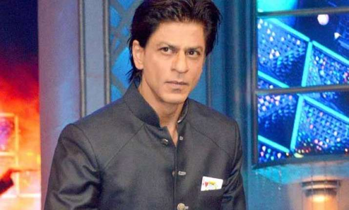 shah rukh khan says slam the tour is not a selfish show