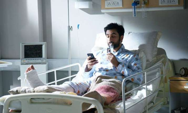 break up brings bad luck ranbir kapoor gets hospitalised