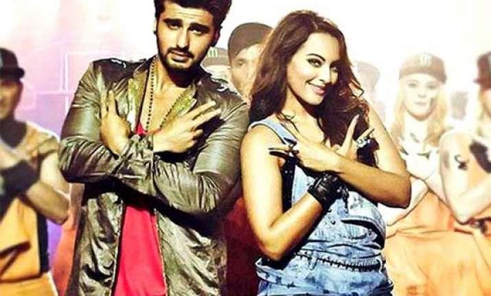 tevar let celebrate song review arjun sonakshi redefines