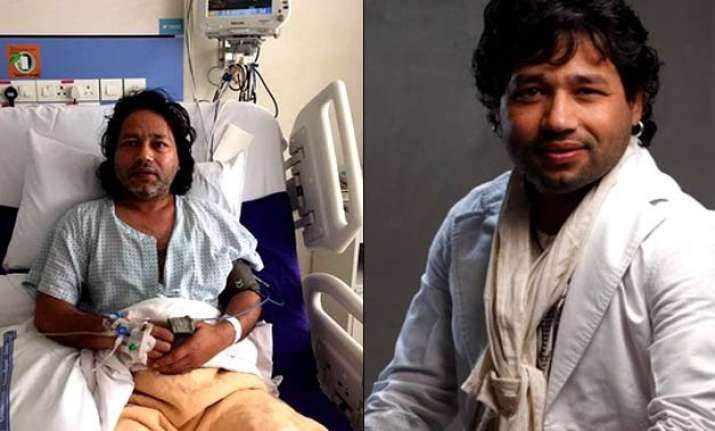 kailash kher hospitalised show in gujarat cancelled