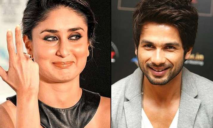 know what kareena is thinking about shahid s wedding to