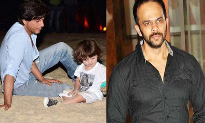 abram learnt to play with cars from rohit shetty srk