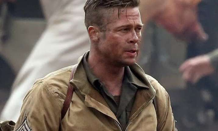brad pitt s fury to be dubbed as fauji in hindi