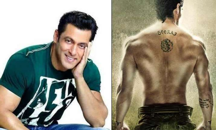 salman khan reveals first look of hero remake see pics