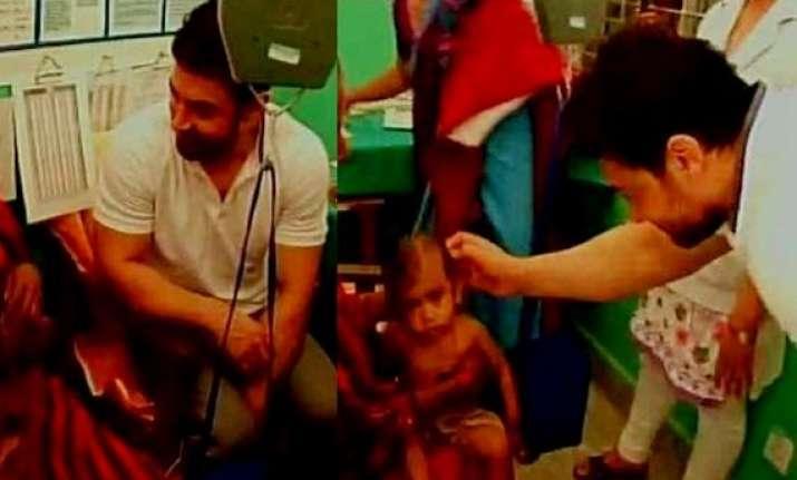 aamir khan in nepal for unicef nutrition programme