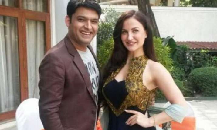 elli avram takes a jibe at kapil sharma calls him a