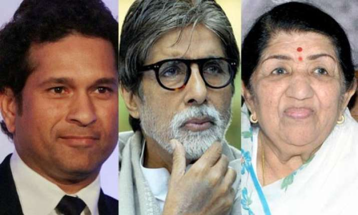 when big b didn t like being placed between sachin and lata
