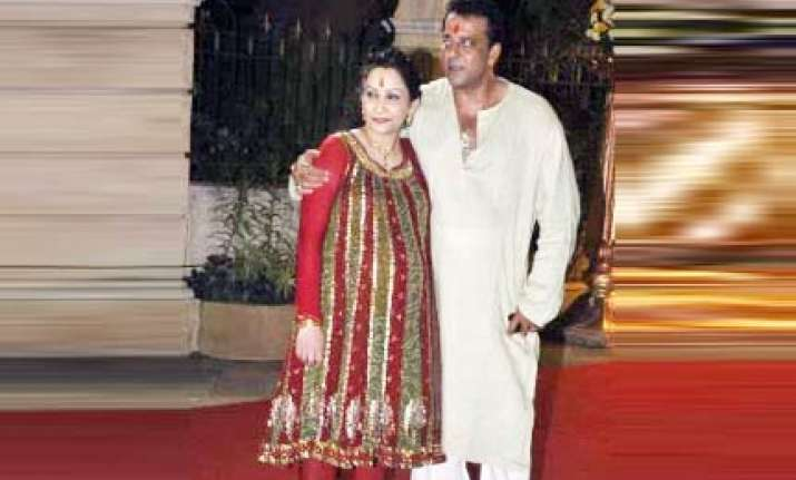 sanjay dutt maanyata welcome twins