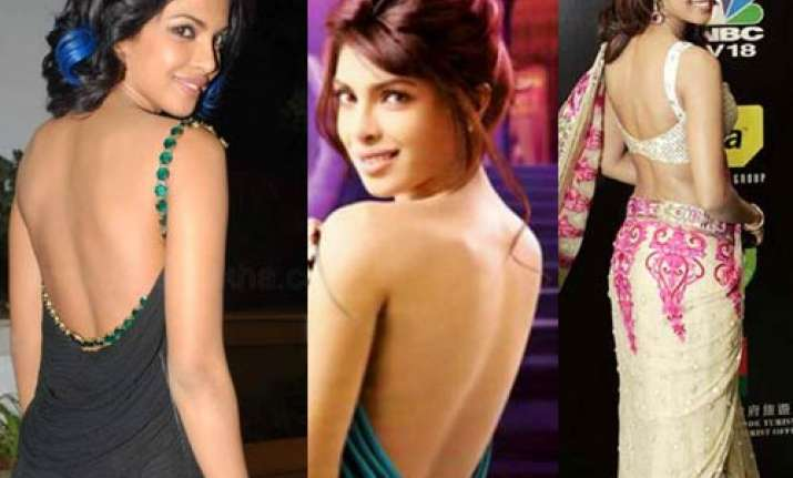 double used for priyanka s bare back scene