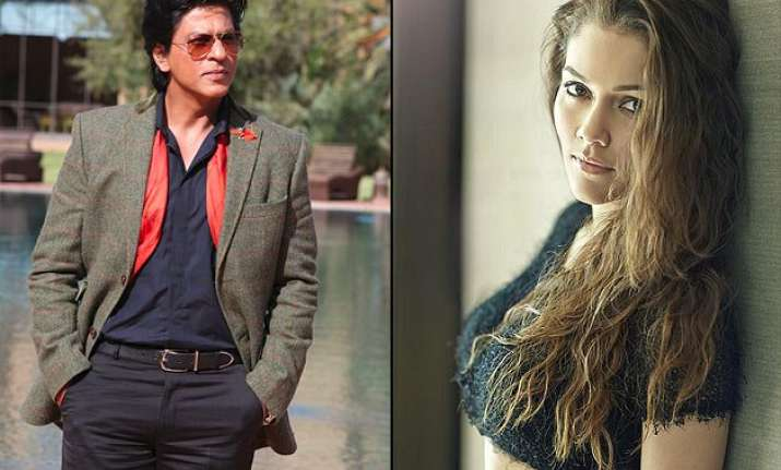 shah rukh khan to romance hot model waluscha de sousa in