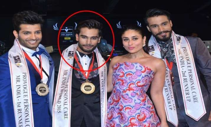 rohit khandelwal bags provogue personal care mr. india 2015