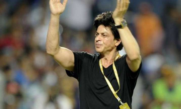 shah rukh disappointed for not being part of kolkata