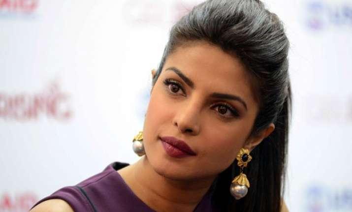 priyanka chopra busy with hectic quantico shoot