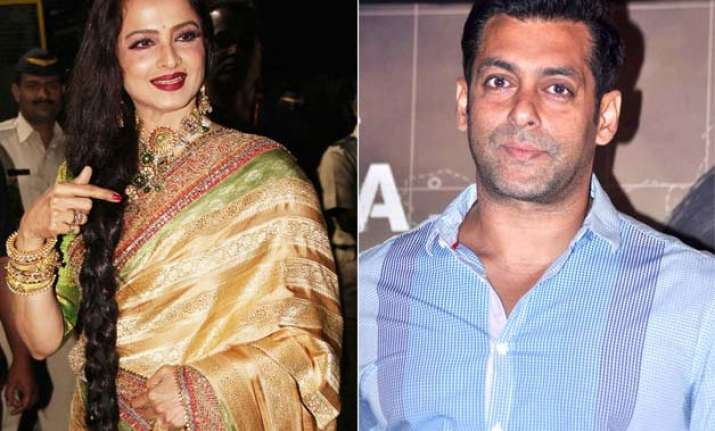 rekha might play salman s mother in sultan