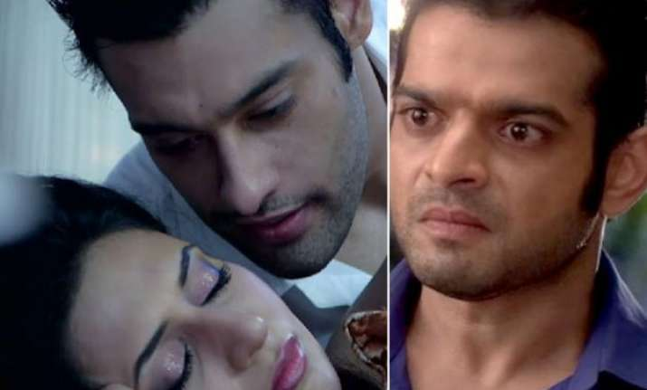 yeh hai mohabbatein omg ishita gets intimate with ashok to