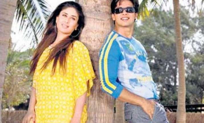 shahid kareena refuse to promote milenge milenge together