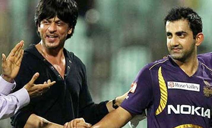 happy birthday srk wishes his main knight gambhir