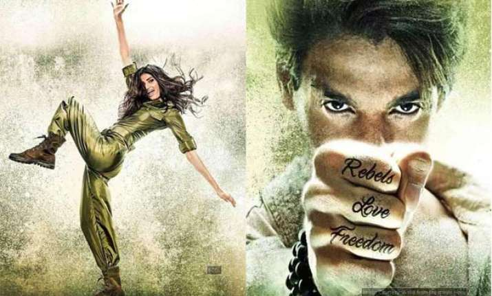 revealed first look of athiya shetty in hero remake