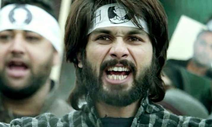 shahid kapoor starrer haider declared a hit