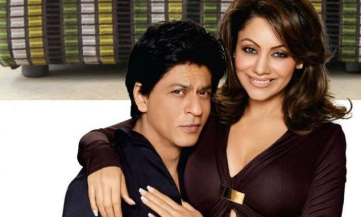shah rukh khan thanks wife gauri for love patience on