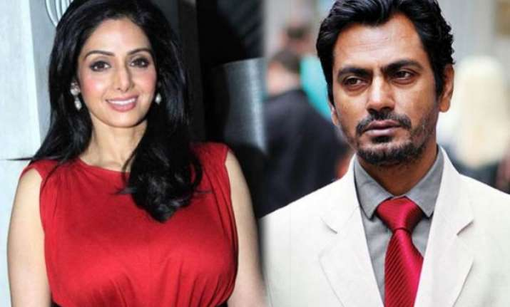 unusual pairing nawazuddin and sridevi to feature together